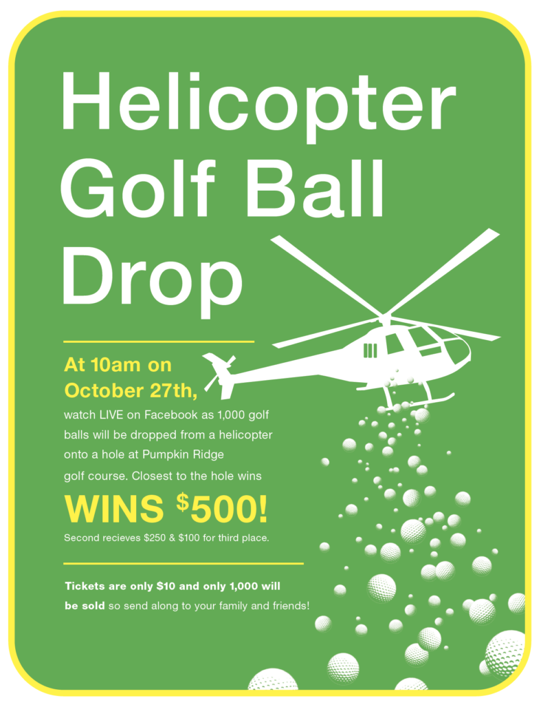 2021 Helicopter Golf Ball Drop